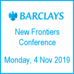 IoTAS attending Barclays' New Frontiers conference